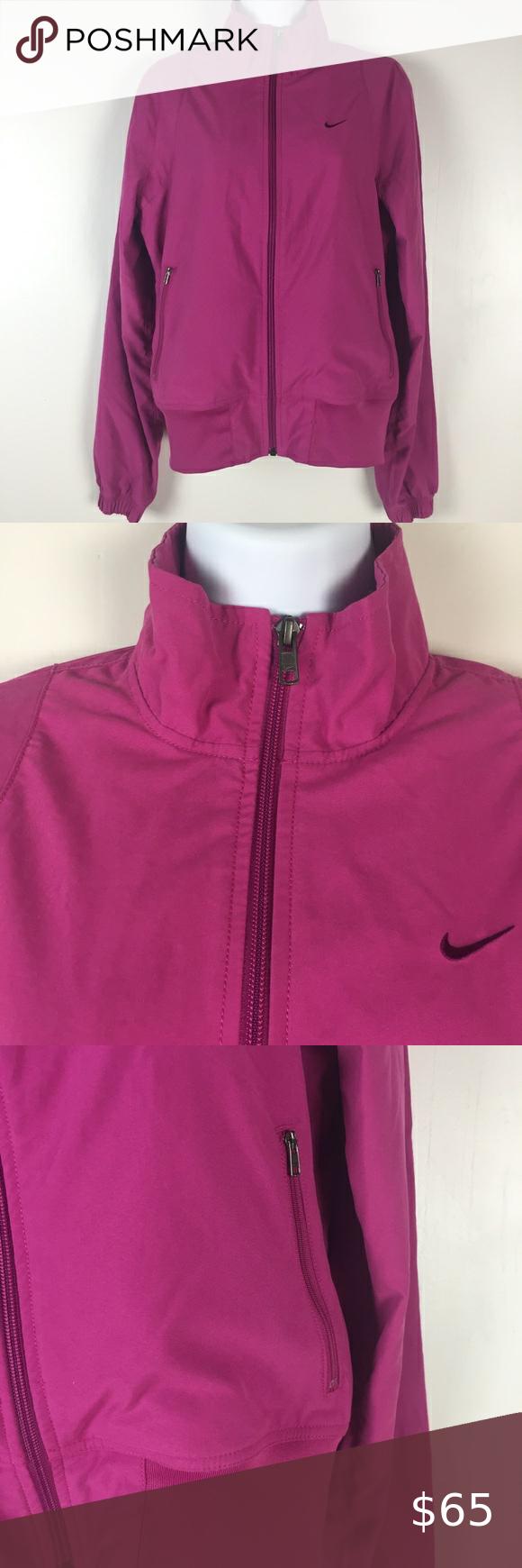 Nike Bomber Jacket Womens Size Medium Magenta Full Bomber Jacket Women Nike Bomber Jacket Jackets For Women [ 1740 x 580 Pixel ]