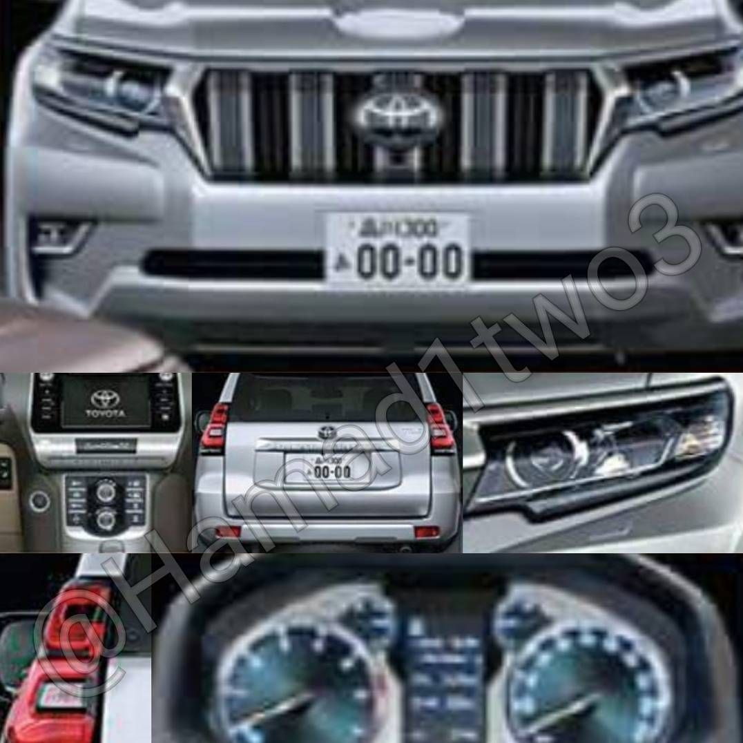 These 2018 toyota land cruiser prado renders could be very close to reality