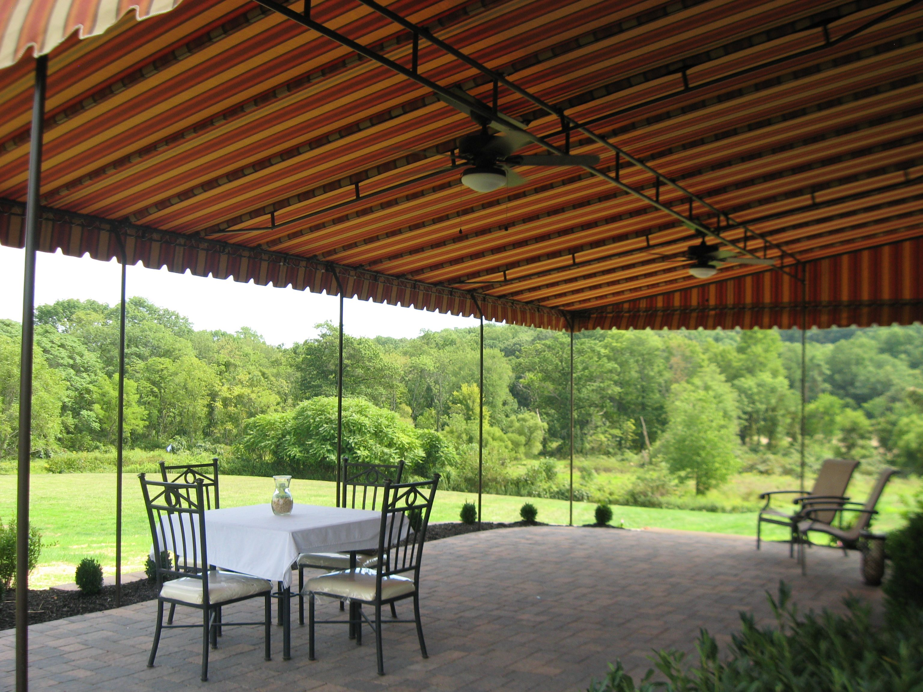 Inspiration Permanent Deck Awnings. 23 Amazing Covered Deck Ideas To Inspire You  Check It Out