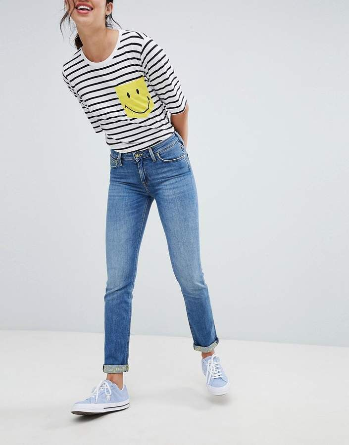 a1ecb5d4 Lee Smile Collab Straight Leg Jean | Lee Jeans Women in 2019 | Lee ...
