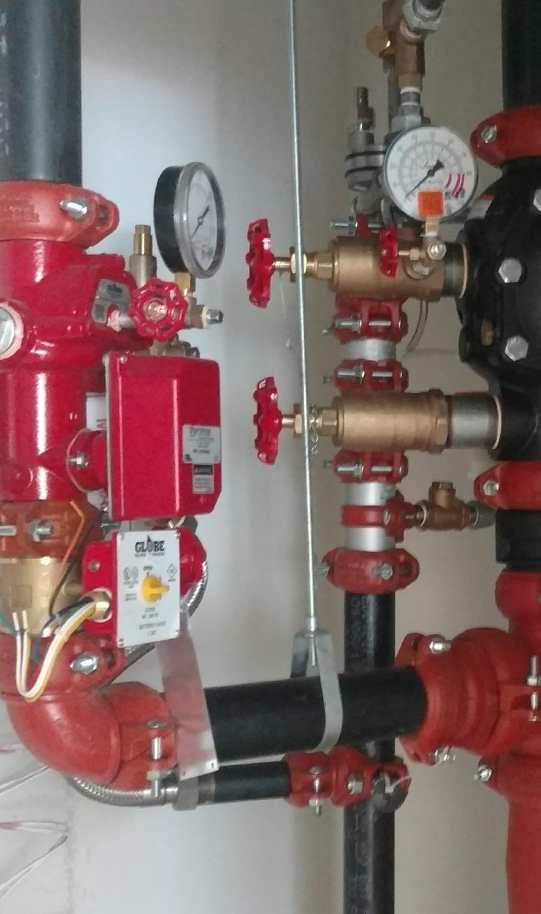 Globe Fire Sprinkler Fire Protection Equipment Fire Sprinkler Fire Protection System