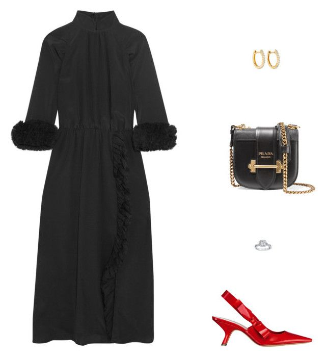 """Evening"" by julieselmer on Polyvore featuring Prada and Anita Ko"