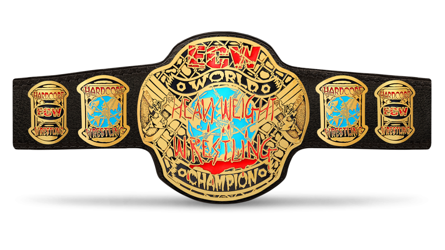 Ecw Championship Wwe Belts Wrestling Pro Wrestling