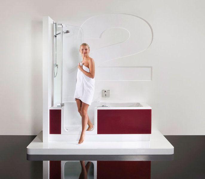 Ein- und Ausstieg | TWINLINE 2 Duschbadewanne | Kreativ | Pinterest | {Duschbadewanne mit tür 64}