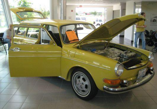 Volkswagen Type 3 Wagon 1973 Cartype Volkswagen Type 3 Volkswagen Vw Wagon