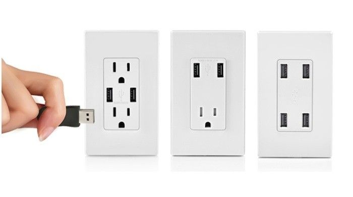 The Simple Life: Best USB Charging Outlets - Remodelista | Electrical  outlets, Wall outlets, Usb outlet plugs