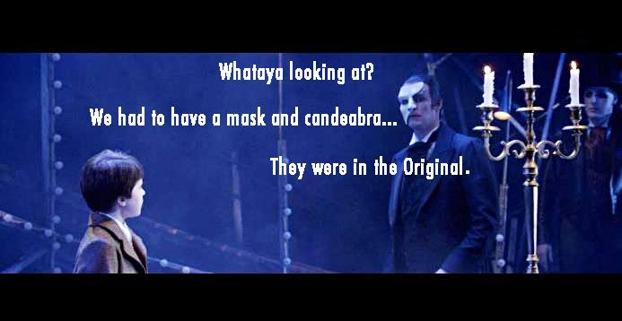 The Phantom Explains To Gustave Phantom Of The Opera Memes Love Never Dies