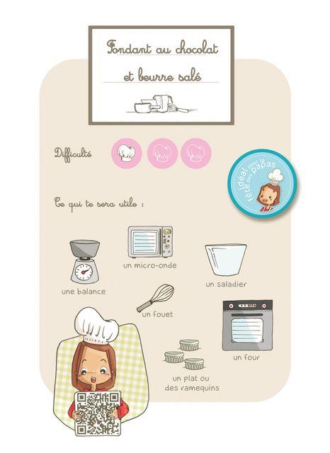 fondant chocolat au beurre sal facile pour les enfants recette cuisine maternelle. Black Bedroom Furniture Sets. Home Design Ideas