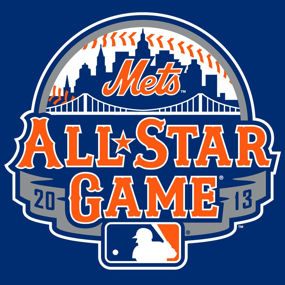 Mets Unveil Official 2013 All Star Game Logo All Star New York Mets Major League Baseball