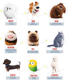 Free Secret Life Of Pets Party Printables Secret Life Of Pets Animal Party Pets Movie