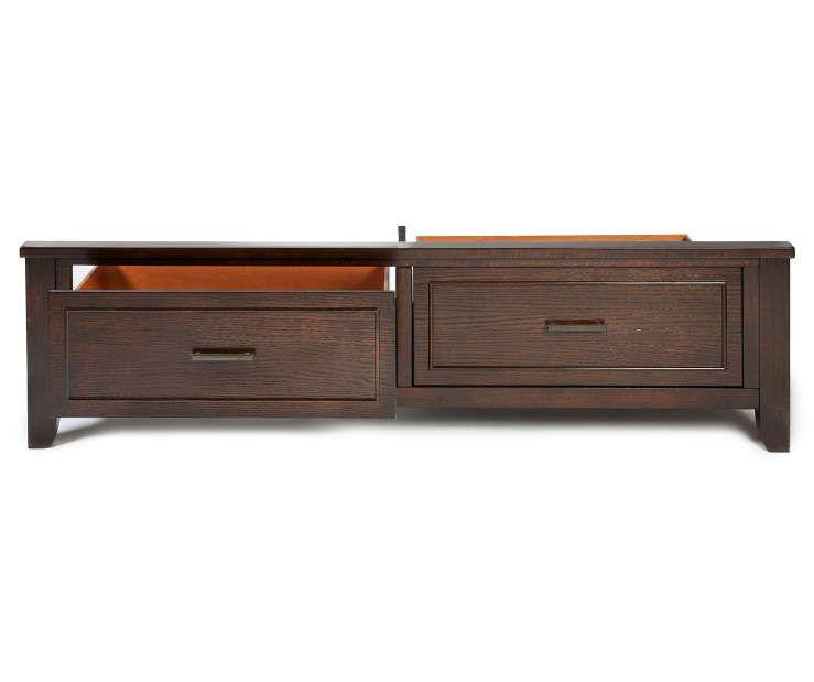 Manoticello King Or Queen Storage Footboard Open Drawer Silo Image Storage Footboard Footboard Big Lots