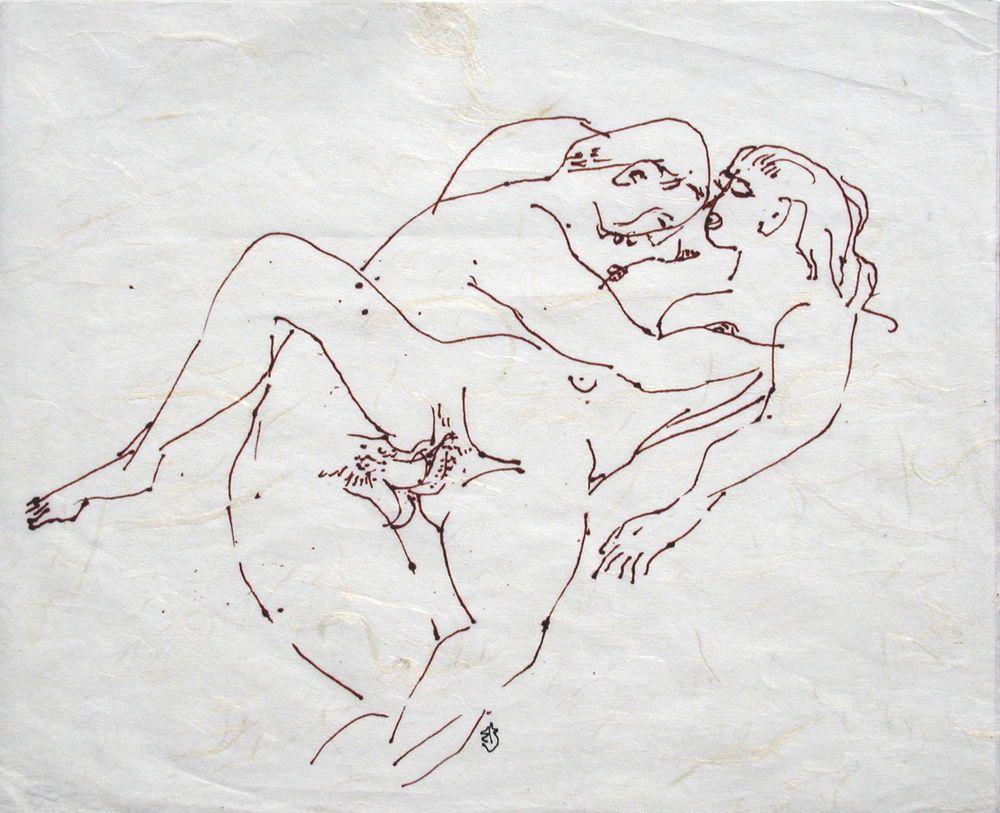 Contemporary Drawing Erotic