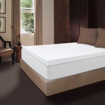 Dream Therapy 4 In Xl Twin Memory Foam Mattress Topper 39 Quot X 80 Quot With Images Memory Foam
