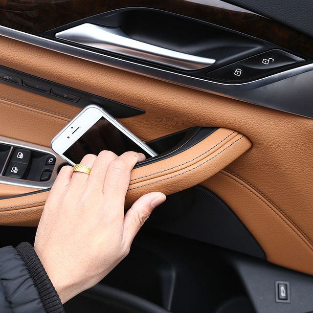 For BMW New 5 Series G30 2017 2018 Plastic Car Door Storage Box Phone Tray Accessories Review