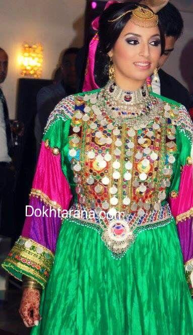#afghan #dress #bride #wedding