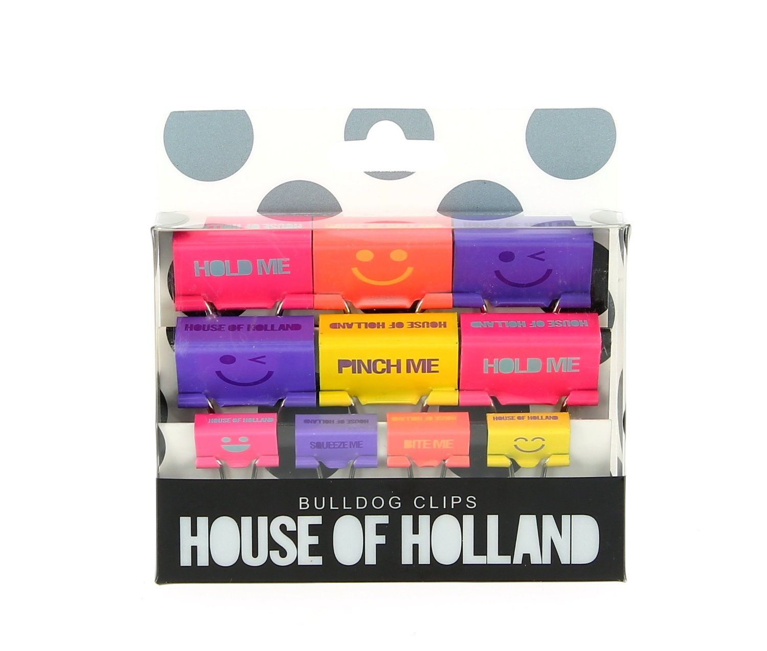 house of holland bulldog clips: amazon.co.uk: office products