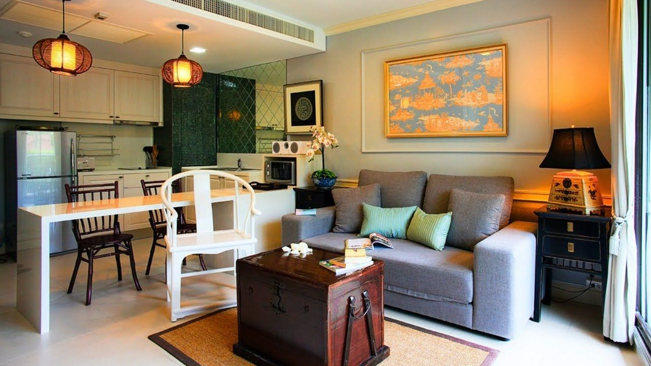 Living Room Dining And Kitchen Combo Decorating Small ...