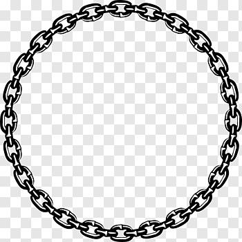 Black Chain Frame Illustration Chain Chains Free Png Clip Art Rantai Bingkai Foto