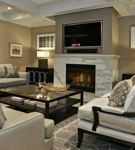 Love The Grays  Home Decor  Pinterest  Gray Fascinating Modern And Contemporary Living Room Designs Design Ideas