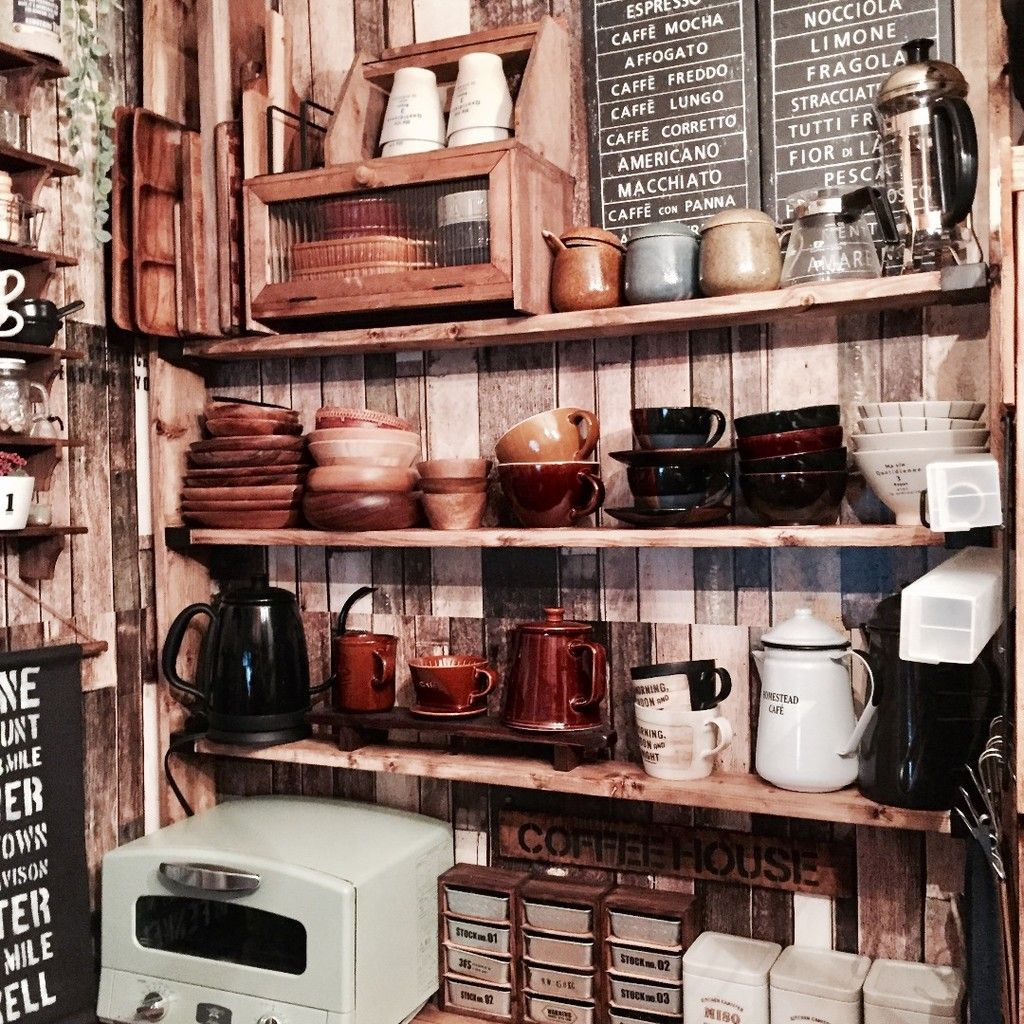 賃貸の味方 ラブリコでキッチン用品を見せる収納 キッチン