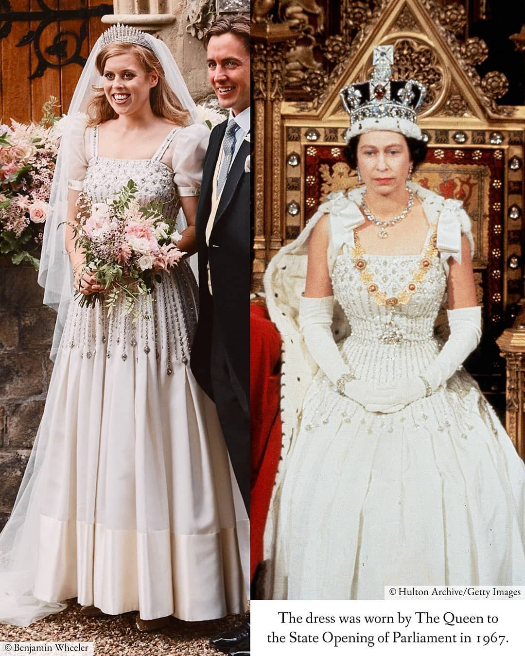 Queen Elizabeth Ii Fan Page On Instagram More Information On Princess Beatrice S Wedding Royal Wedding Gowns Royal Wedding Dress Princess Beatrice Wedding [ 1350 x 1080 Pixel ]