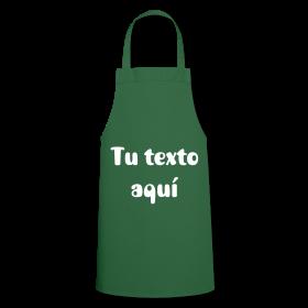 Delantal Verde Personalizable. 19,50 €