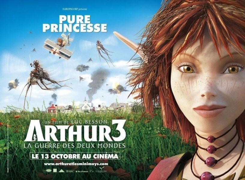 Arthur 3 The War Of The Two Worlds With Images World Movies