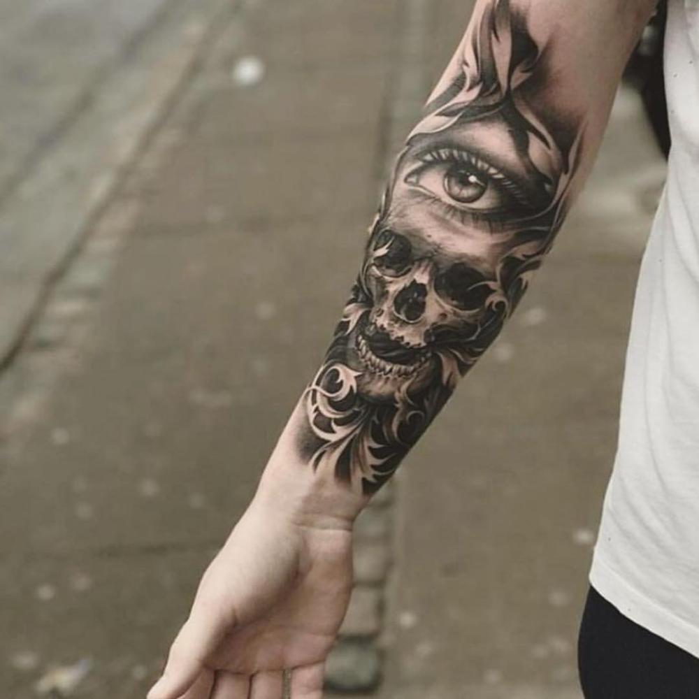 The best tattoos of 2020 Tattoos, Eye tattoo, Forarm tattoos