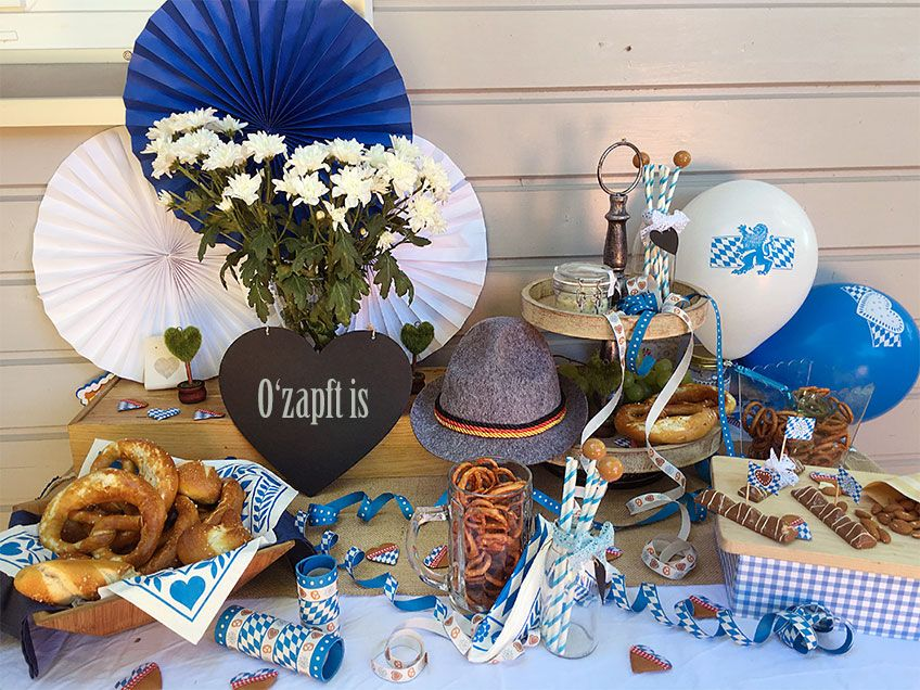 Deko Ideen Oktoberfest Party