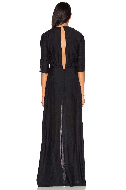 PFEIFFER Beckman Gown in Schwarz | REVOLVE | Kleider | Pinterest | Gowns