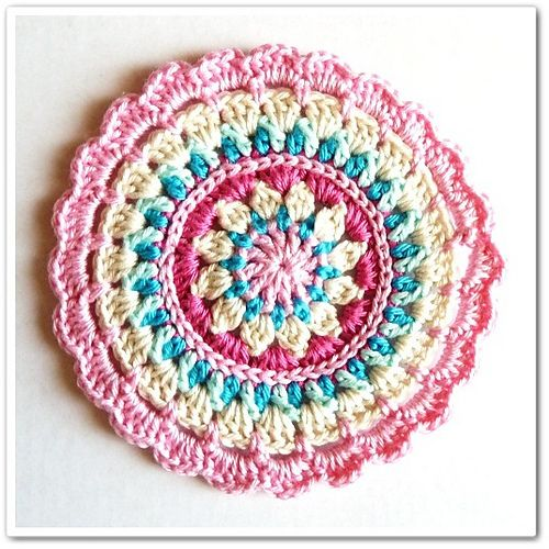 love - Little Spring Mandala pattern by Barbara Langer