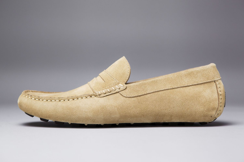 6a98e5a96c1 LodinG - Mocassins - Targa veau velours beige cappuccino ... - Shoes    Shirts
