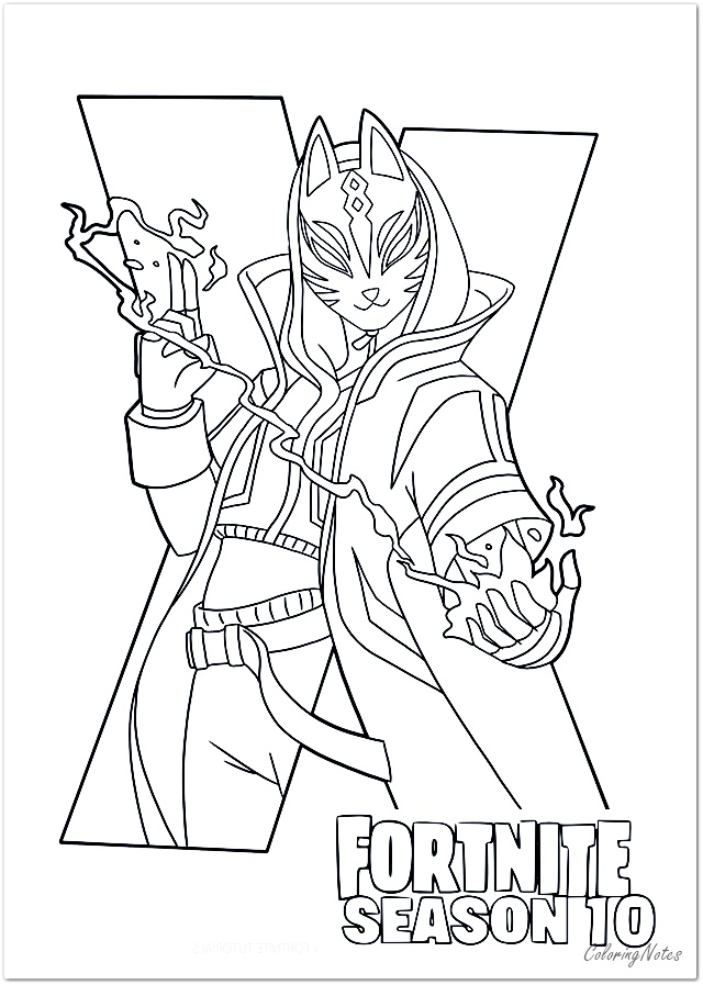 Fortnite Coloring Pages Season 10 Coloring Pages Coloring Pages For Boys Colouring Printables