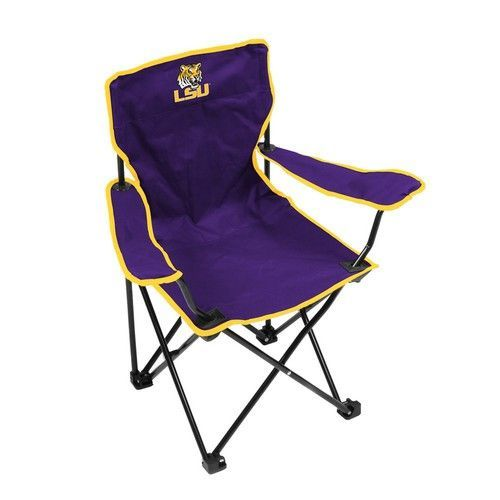 Lsu Tigers Louisiana State Youth Folding Camping Chair Toddler