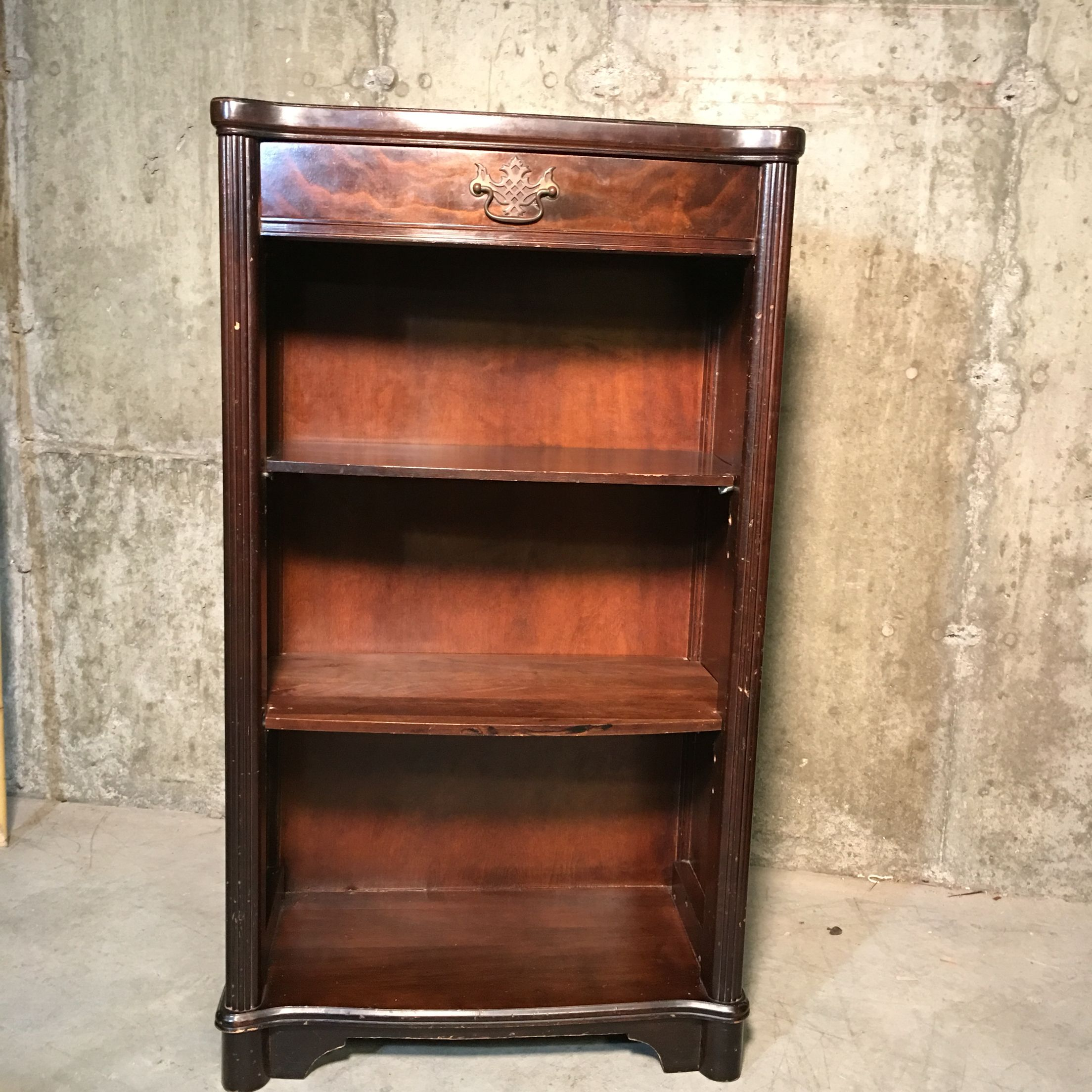 wall bookcase hang kerris shelves farmhouse wide adjustable pine with hanging wp bookcases