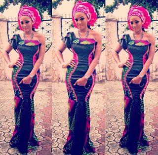 Nigerian Dress Styles 2016 - Long Gown  - #1 Nigeria Style Blog #nigeriandressstyles