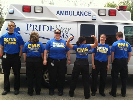 Pridestar Ems  Pridestar Ems Employees Switched Uniforms For A