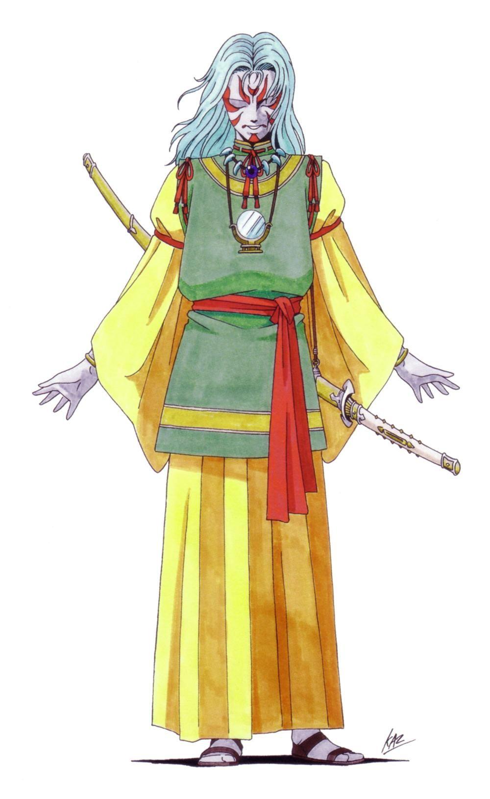 Shin Megami Tensei II Character Images in 2020 Shin