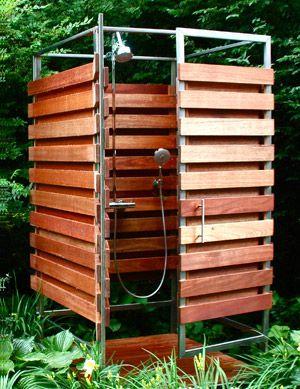 The Oborain Fjord Garden Shower Outdoor Shower Outdoor