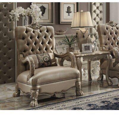 Surprising Astoria Grand Ledbury Armchair Upholstery Color Golden Short Links Chair Design For Home Short Linksinfo