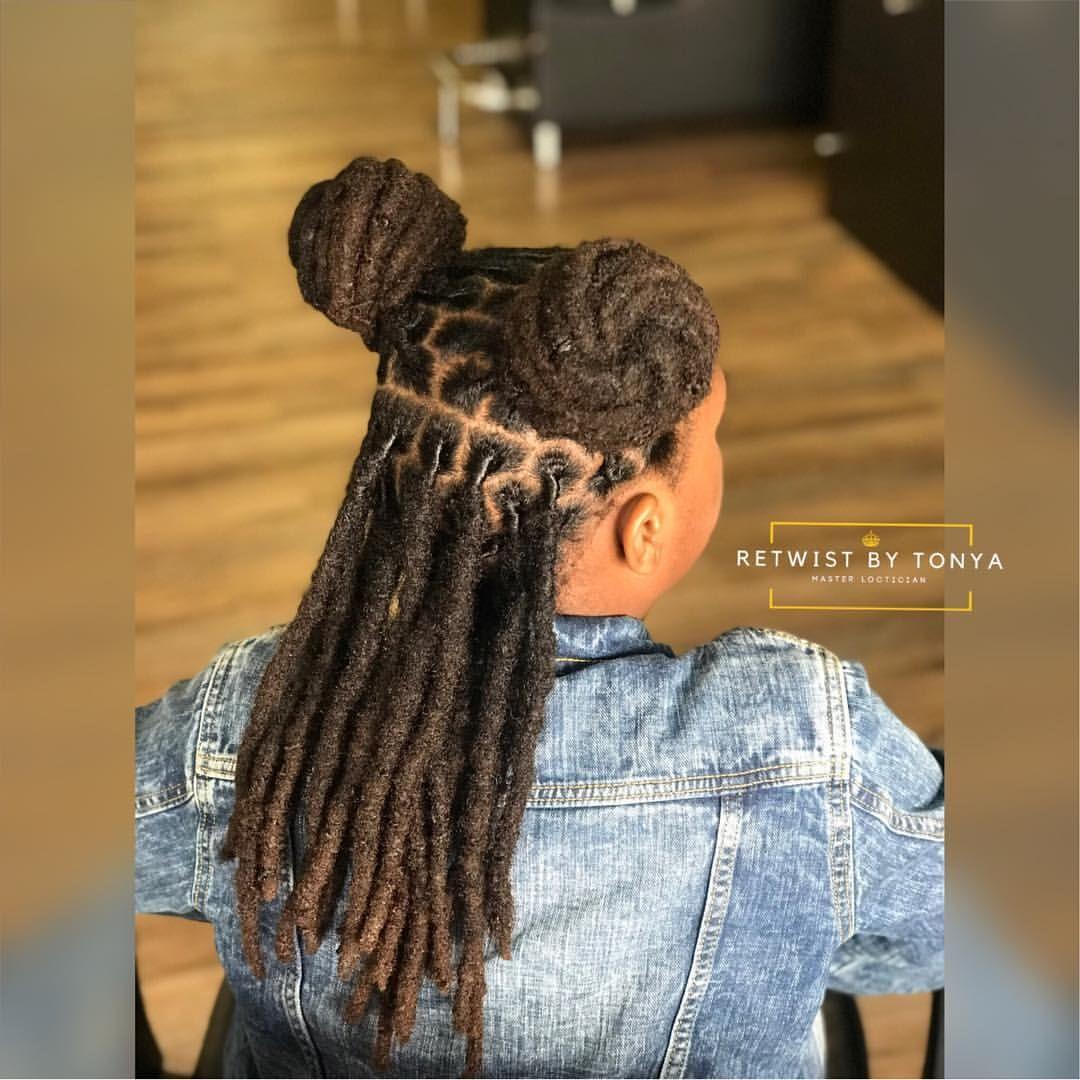 Retwist By Tonya Llc On Instagram Retwistbytonya Retwist Interlocking Loctician Locs Dreadlock Hairstyles Black Beautiful Dreadlocks Natural Hair Styles