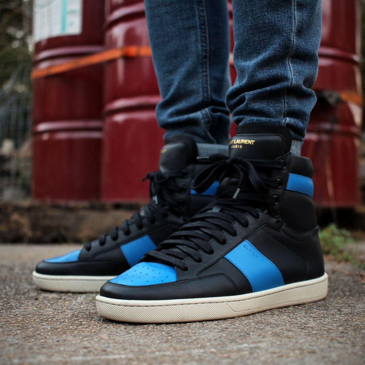 #wdywt Saint Laurent SL/10H - Black/Blue