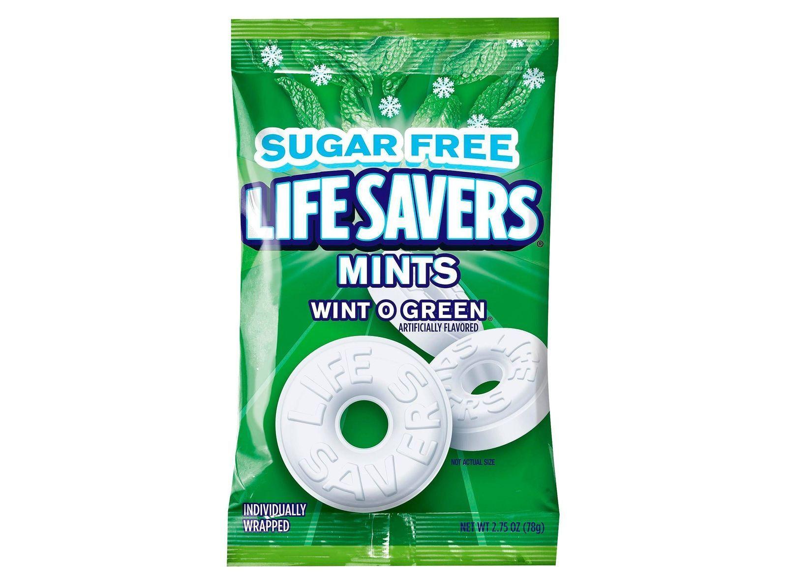 Life savers wintogreen mints sugar free 275oz mint