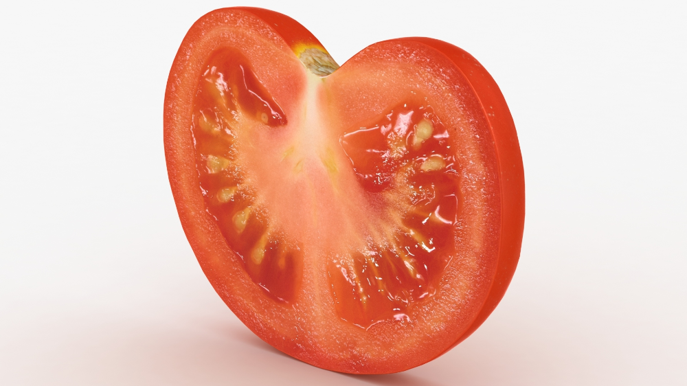 3d Realistic Tomato Slice 02 Turbosquid 1540454 Realistic Low Poly Models Environment Map