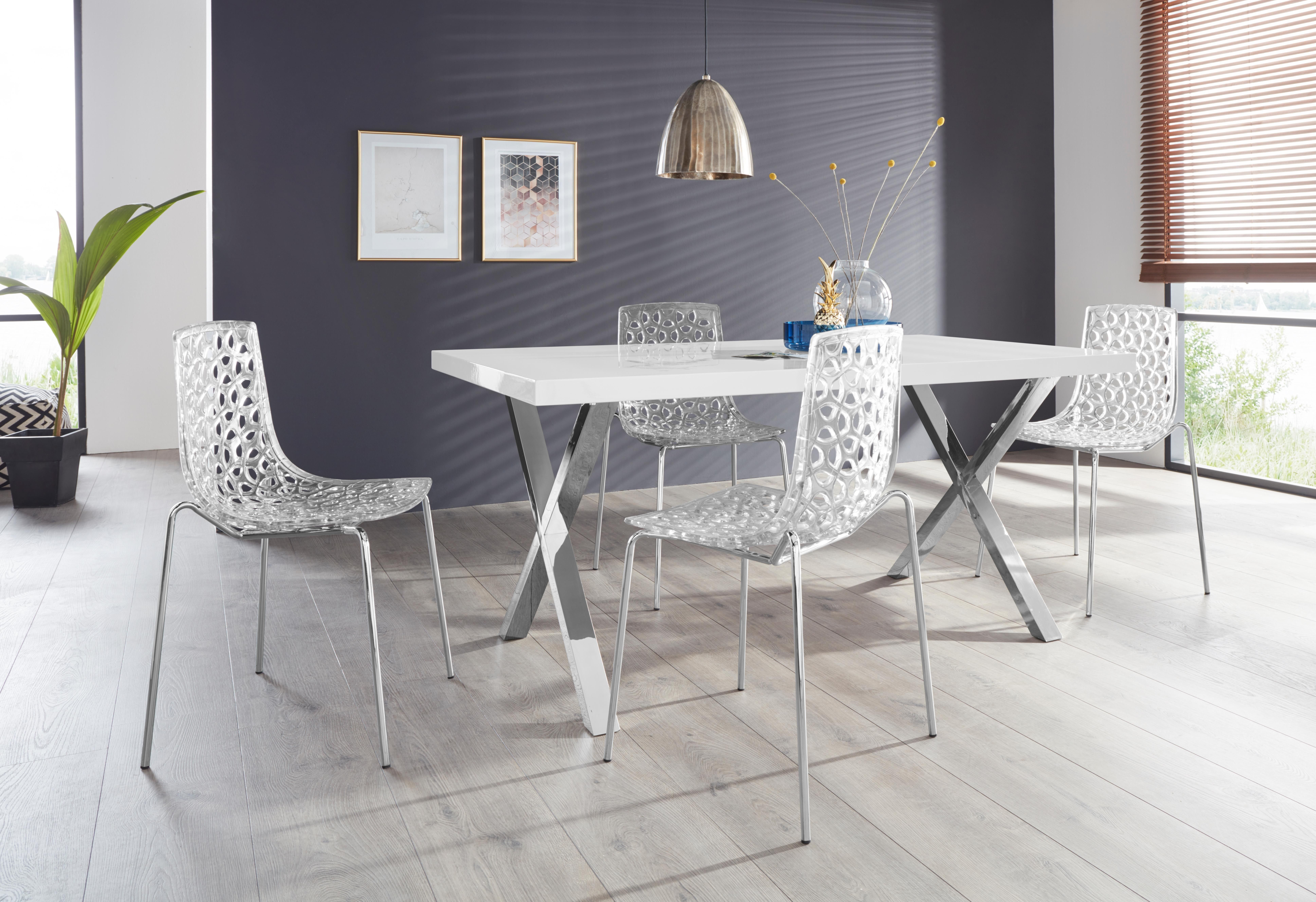 Eiche Esstischgruppe Design Tisch Massivholz Kleiner Tisch Mit