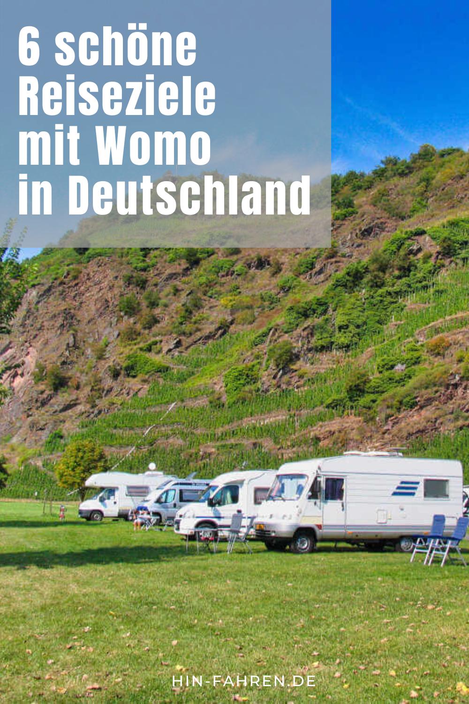 Deutschland mit Wohnmobil: 8 ausgewählte Camping-Ziele  Wohnmobil