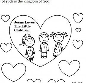 Love One Another Colouring Pages Sunday School Coloring Pages Sunday School Kids Kids Sunday School Lessons
