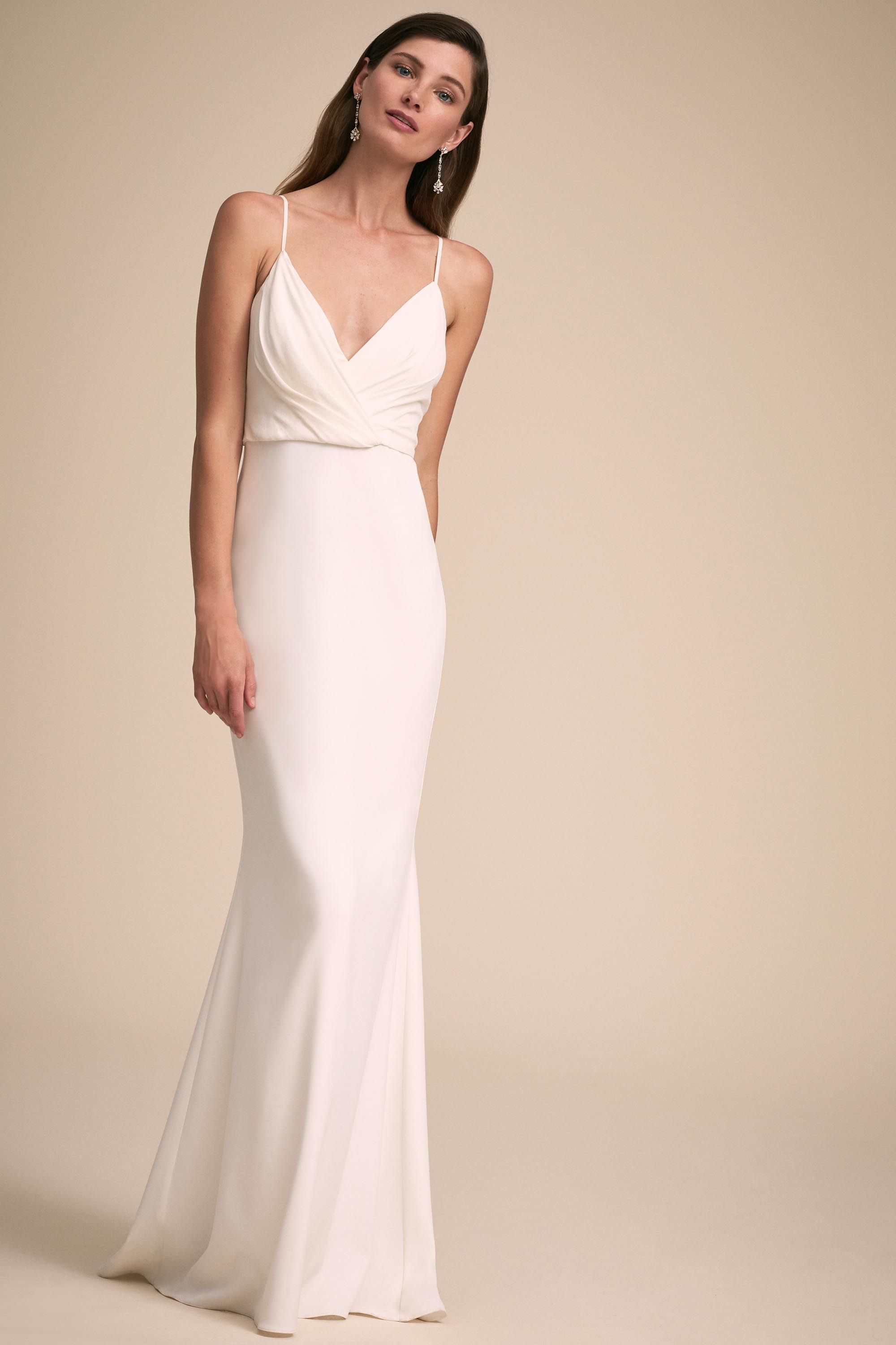 At last gown from bhldn the minimalist bride pinterest