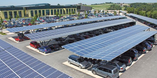Africa S Largest Solar Carport In Kenya To Be Opened At Newly Constructed Garden City Mall Construction Review Online Solar Panels Solar Garden City