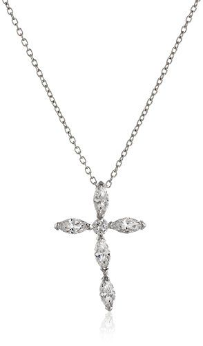 Sterling silver cubic zirconia cross pendant necklace 18 read more sterling silver cubic zirconia cross pendant necklace 18 read more at the image link note its an affiliate link to amazon aloadofball Image collections